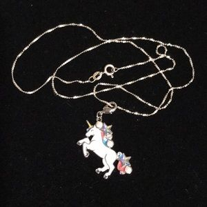 Jewelry - Sterling silver necklace with Swarovski